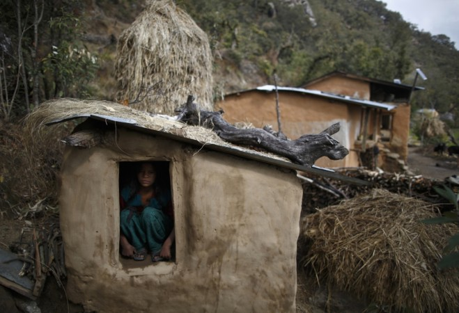Menstrual huts