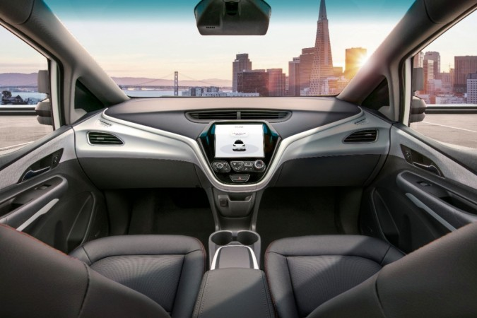 GM Cruise AV Interior