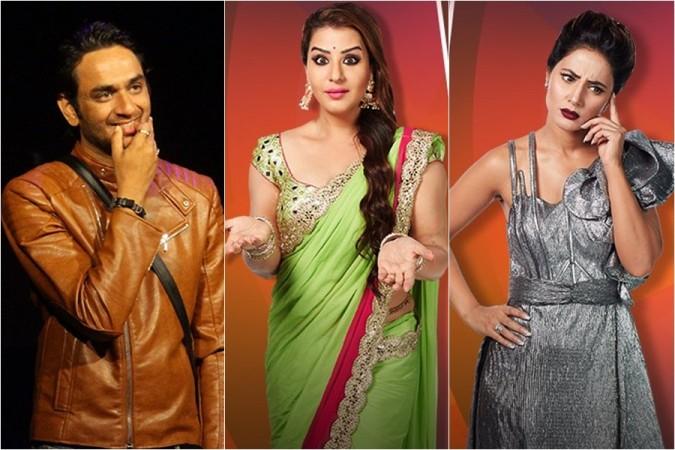 Vikas Gupta, Shilpa shinde, Hina Khan