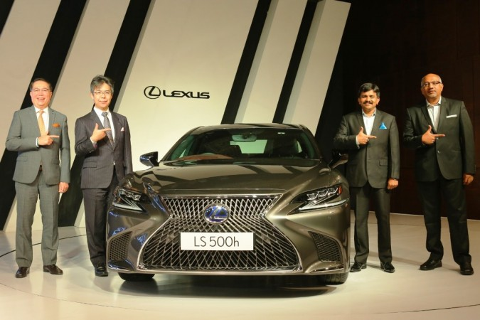 Lexus LS 500h Launched in India; Price starts at INR 1.77 Crore