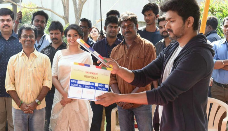 Vijay begins shooting for 62nd film, by Murugadoss