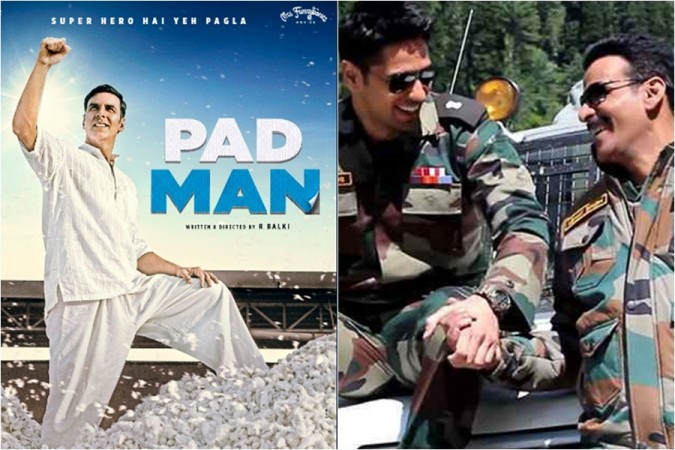 Positive Reviews All over for Pad Man