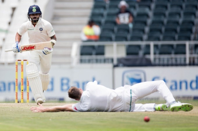 India beats South Africa for pride-saving win in 3rd test