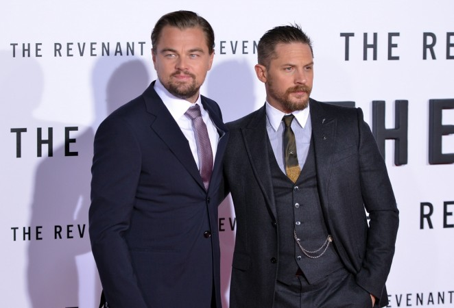 Tom Hardy, Leonardo DiCaprio, Oscars, The Revenant