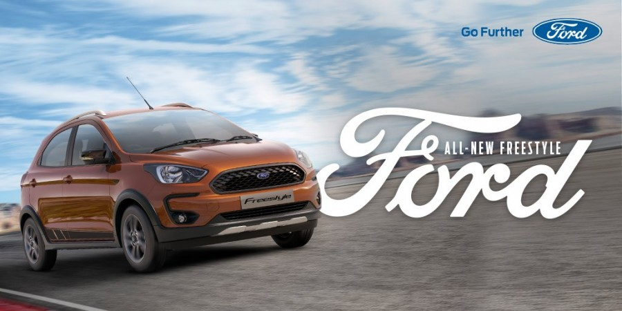 Ford Freestyle cross-hatch unveiled in India; to be launched in April