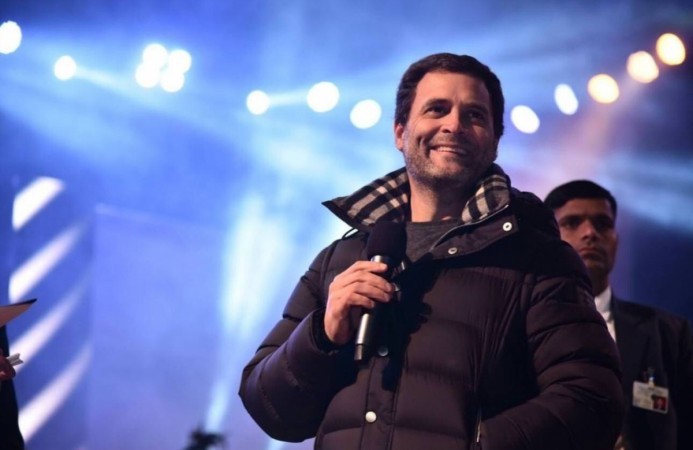 BJP targets Rahul over 'Rs 63000' jacket he wore to concert