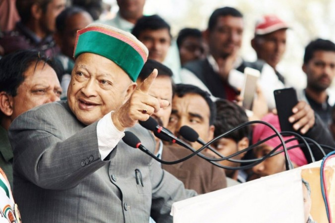 Disproportionate Assets: ED files chargesheet against Virabhadra Singh, wife