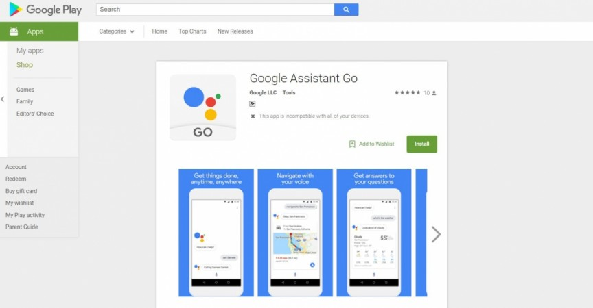 Google Assistant Go, Android Go edition, budget phones, Play Store