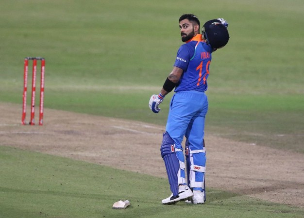 Unstoppable Virat Kohli slams 160*, India posts 303 vs Proteas