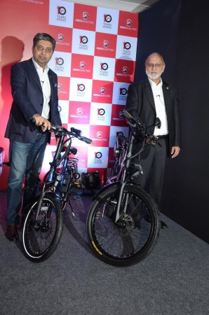 Hero Electric unveils new e-scooter