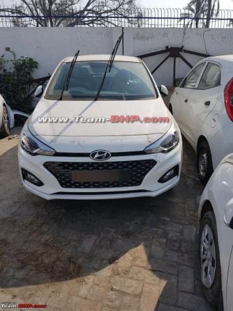 2018 Hyundai Elite i20 facelift