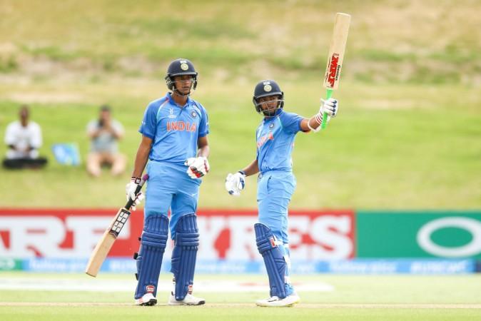 India at U-19 World Cup 2018
