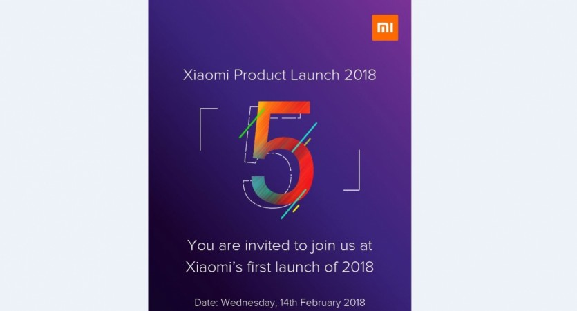 Redmi Note 5 India Launch is Scheduled for February 14