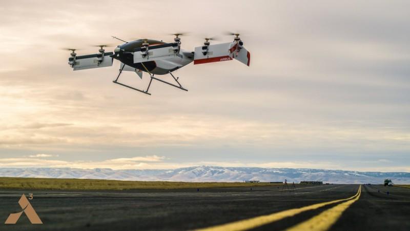 Airbus Vahana first flight
