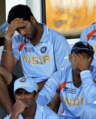 Rahul Dravid 2007 World Cup