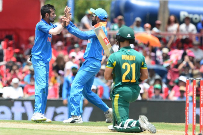 Unstoppable Virat Kohli slams 160*, India posts 303 vs Proteas