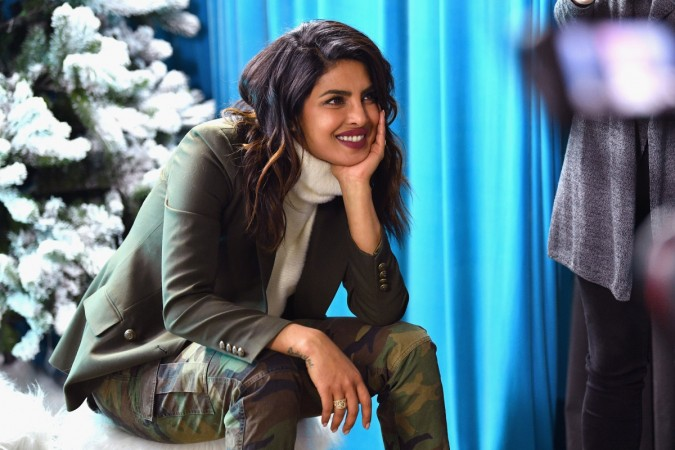 Frustrated Priyanka Chopra breaks a glass of wine on her head