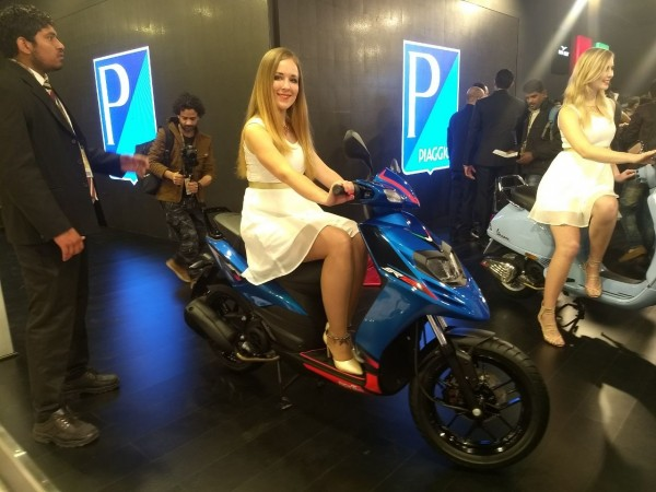 Auto Expo 2018: Piaggio launches Aprilia SR125