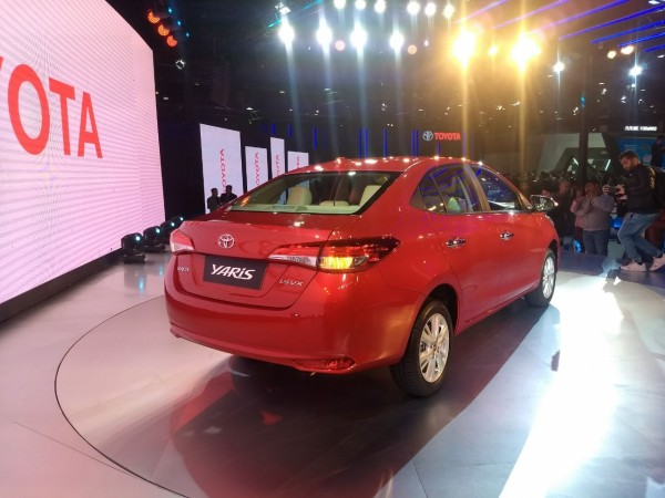 Toyota drives in Yaris sedan for Indian market