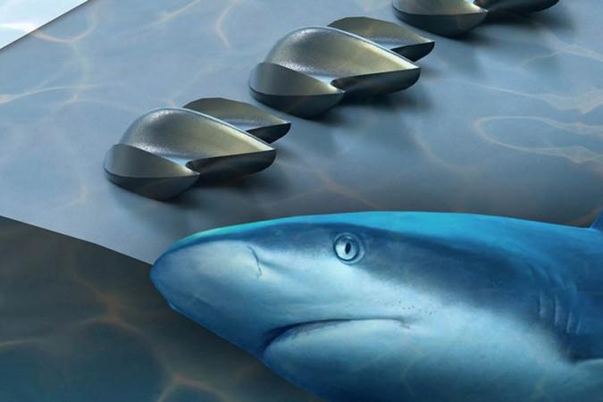 Shark skin inspires design for better drones, planes, cars