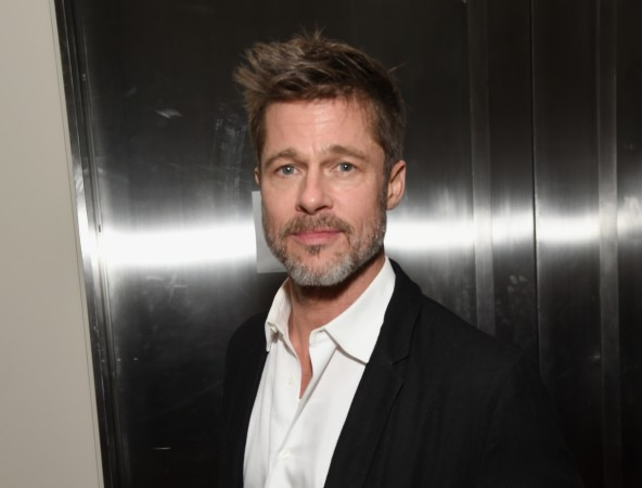 Brad Pitt in car accident