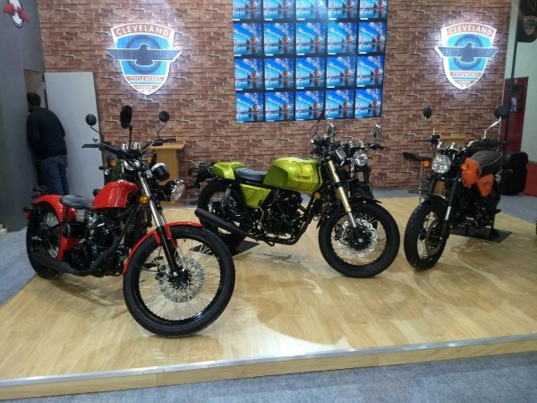 Auto Expo 2018 : Cleveland Cyclewerks Ace Scrambler Makes Its Way To India