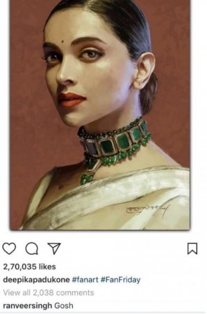 While Priyanka Dazzles At New York Fashion Week 2018 Deepika Stuns In Sabyasachi Mukherjeeu0026#39;s ...