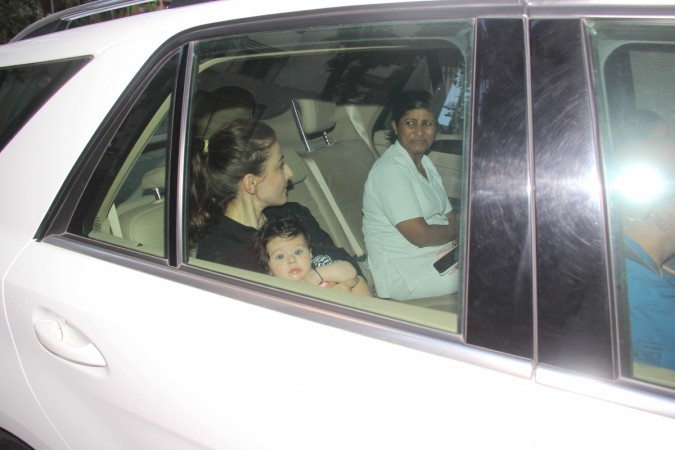 Soha Ali Khan with daughter Inaaya