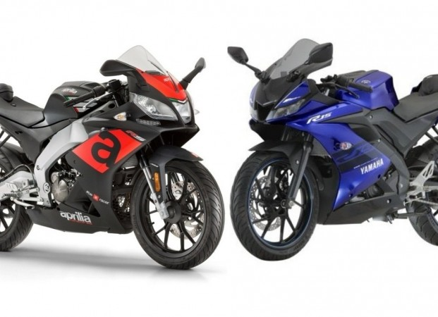 Aprilia RS 150 and Yamaha YZF-R15 Version 3.0