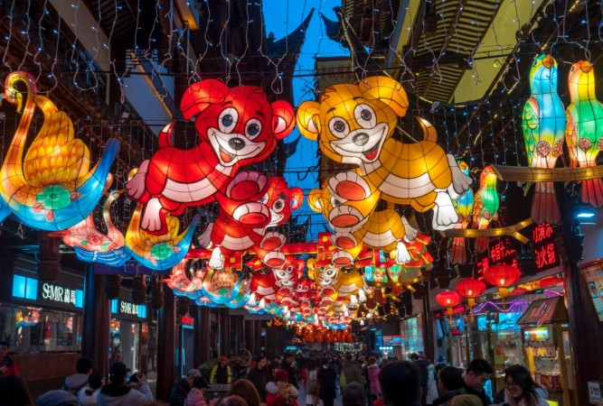 Chinese New Year 2018 photos
