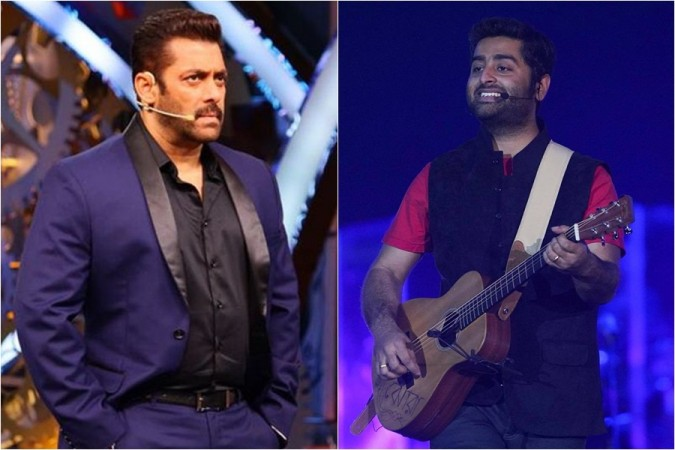 Is Salman Khan still angry with Arijit Singh?