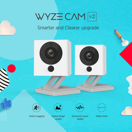 WyzeCam version 2 now up for pre-order, still at $20