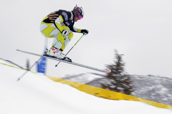 Frightening crash in men's Olympic ski cross
