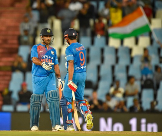 When MS Dhoni 'abused' Manish Pandey during match