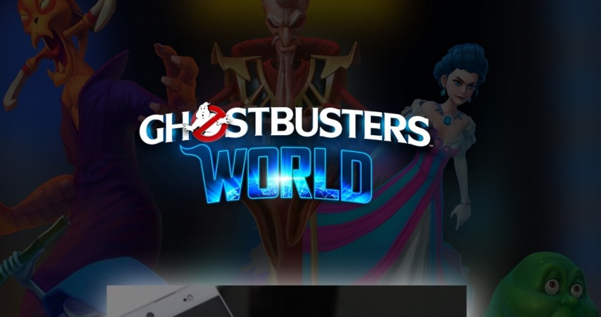Ghostbusters World Is a New Augmented Reality Title for Mobile Devices
