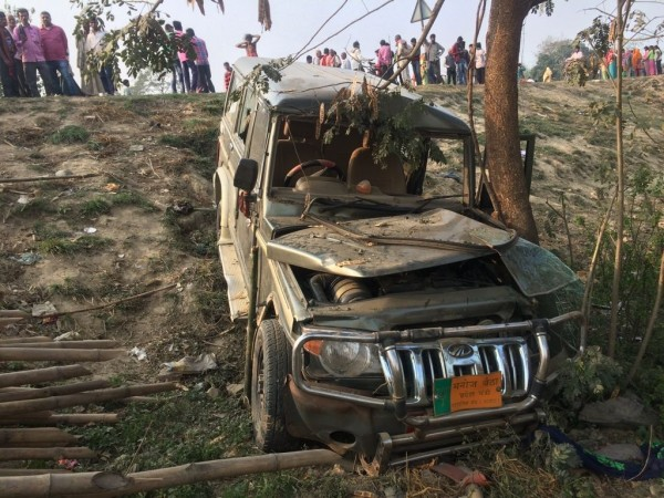 SUV crushes nine children in Bihar