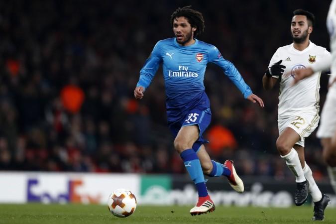 Arsenal's Egyptian midfielder Mohamed ElnenyADRIAN DENNIS  AFP  Getty