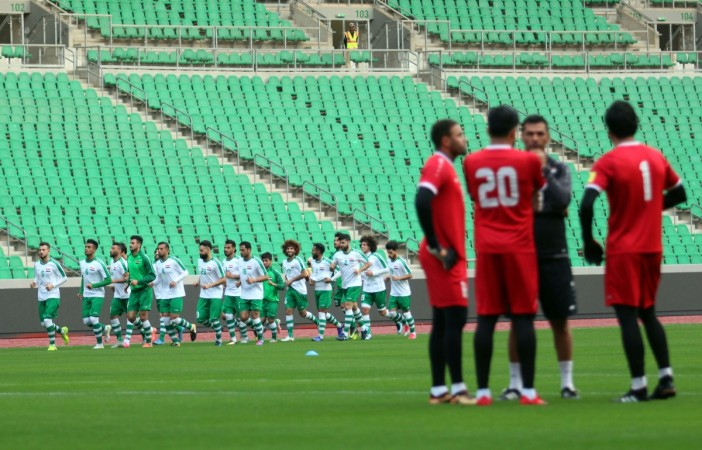 Saudi-Iraq football match in Basra kicks off new era