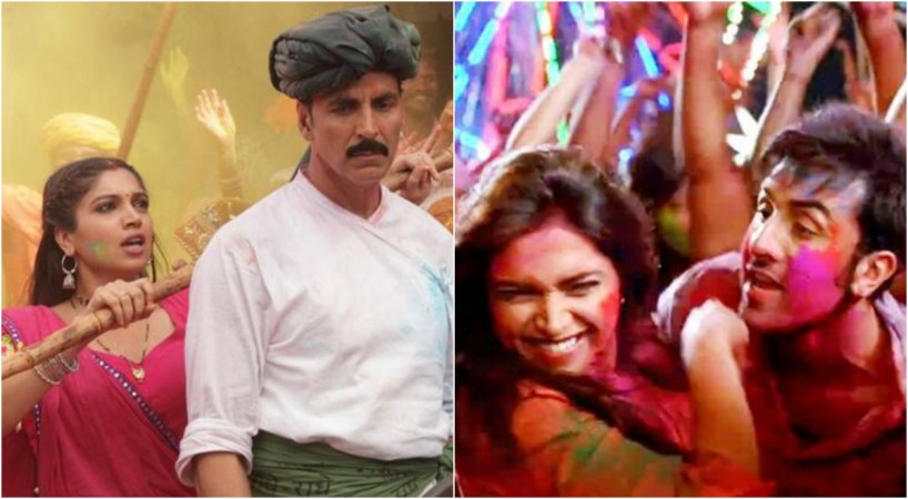 Holi celebrations of Bollywood celebrities with Holi songs and Tweets