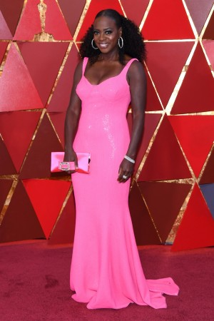 Viola Davis attends the 90th Annual Academy Awards at Hollywood & Highland Center on March 4, 2018 in Hollywood, California.