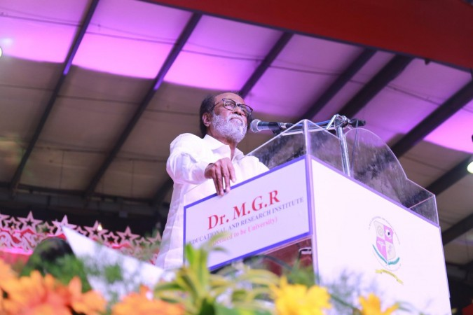 Rajinikanth says he can give MGR-style governance to TN people