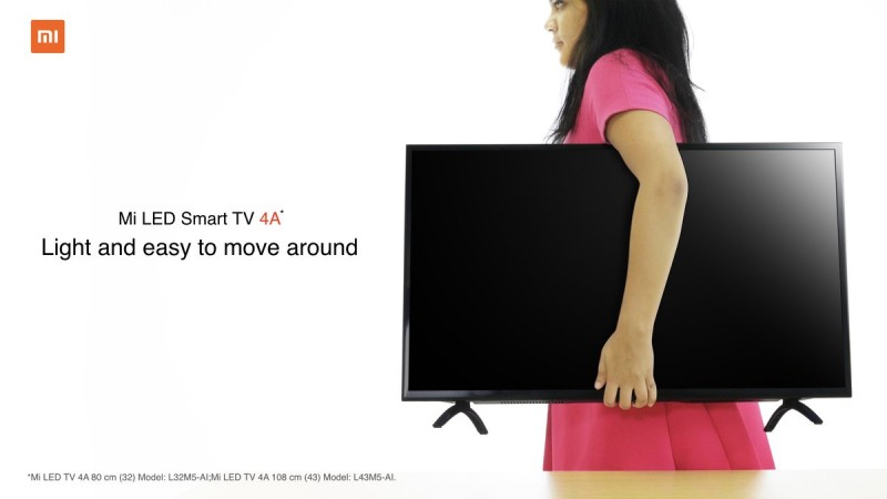 Xiaomi Mi TV 4A series launched in India