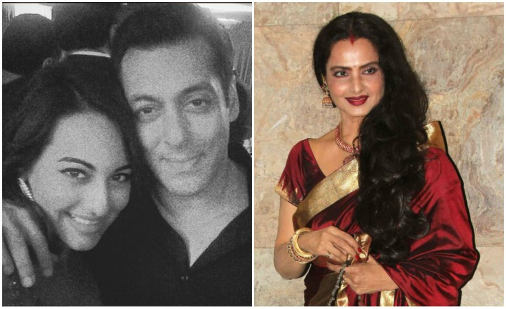 Rekha Family Childhood Photos Actress: Salman Khan To Reunite With Rekha And Sonakshi Sinha For A