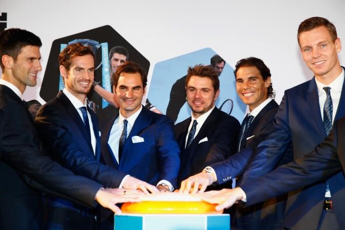 Roger Federer, Rafael Nadal, Novak Djokovic