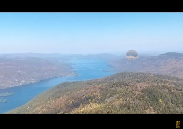 Did Google Earth help spot mysterious brown UFO over Lake George?
