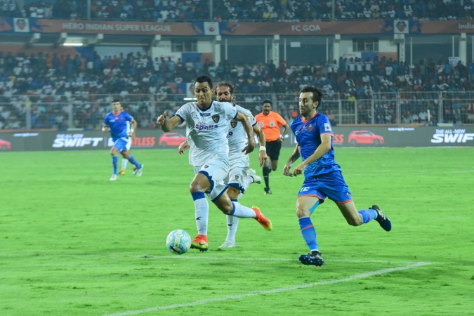FC Goa share goals; Chennaiyin pocket advantage