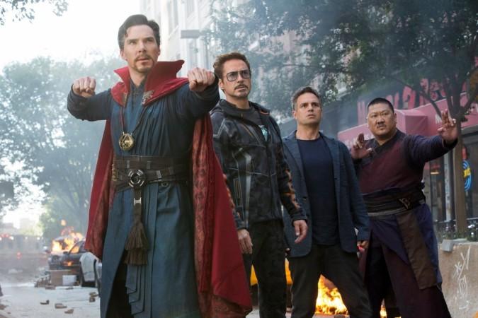 Avengers Infinity War, Iron Man, Doctor Strange, Hulk