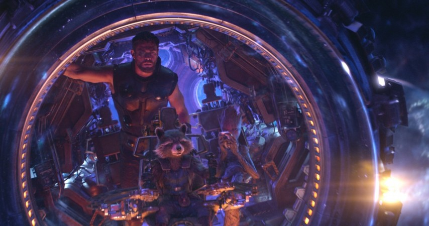 Marvel Revealed the Infinity War Scene Where Thor Meets the Guardians
