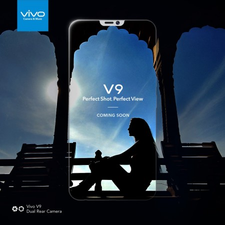Vivo leaked full specs of the V9 on their India website