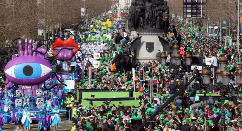 Thousands march in San Francisco's St. Patrick's Day Parade